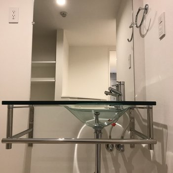 めっちゃかっこいい洗面台