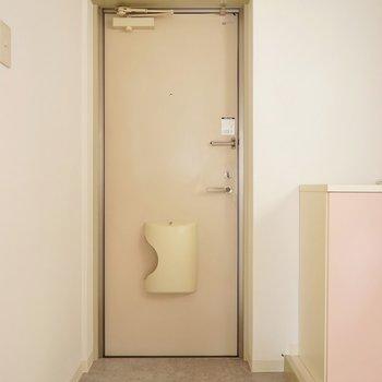 SBもドアの横にあります。※写真は、前回撮影時のもの