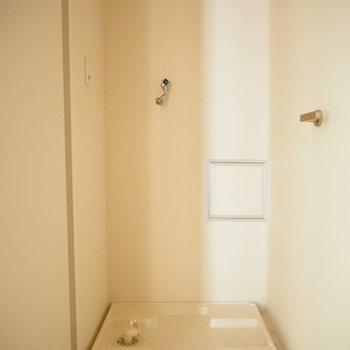 室内洗濯機置き場もあります!