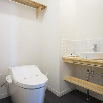 トイレは新品ウォシュレット付き!※写真は前回募集時のものです