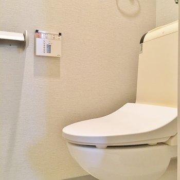 トイレもキレイ♪※写真は別部屋です