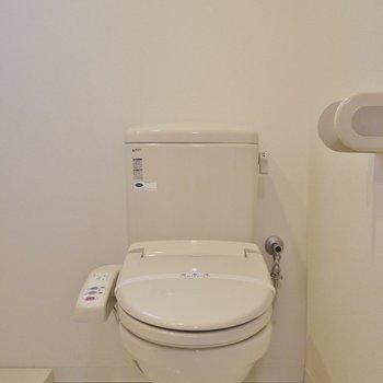 横はおトイレのアメサパタイプ。※写真は同一フロアーの別室
