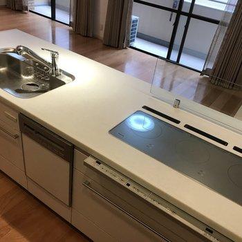 食洗機までついていて設備面が充実しています。
