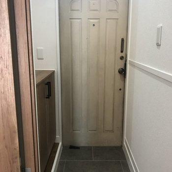 玄関です※写真は前回募集時のものです