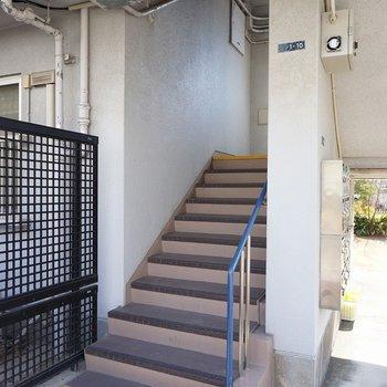 エレベーターはないので、健康的に階段で