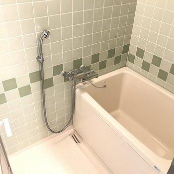 水栓は機能的に変えてます!レトロさがまたかわいい