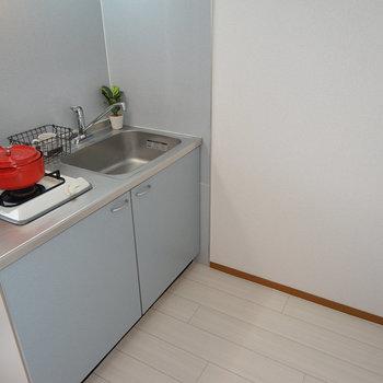 キッチンは1口ガスです。