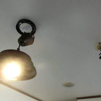 照明とスポットライト※前回募集時の写真です。