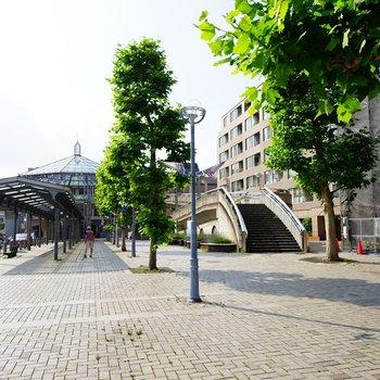 中川駅はこんなキレイに整備されています♪