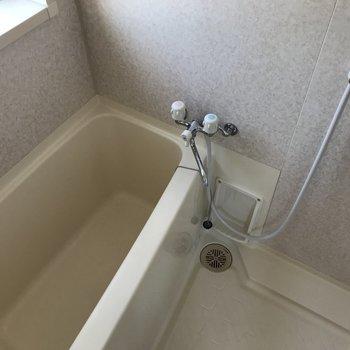 お風呂もシンプルです