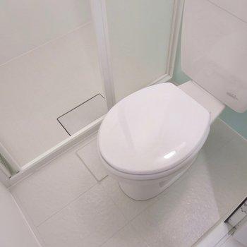 新しいトイレです!