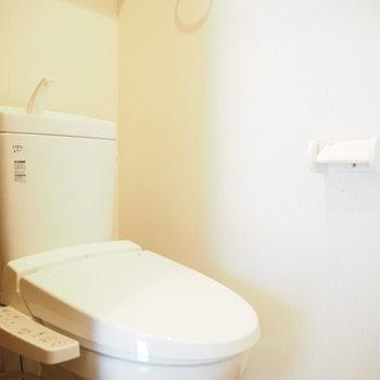 個室のトイレがうれしいポイント◎