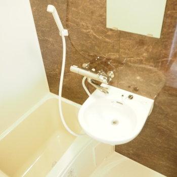 お風呂は清潔間が大事なの。