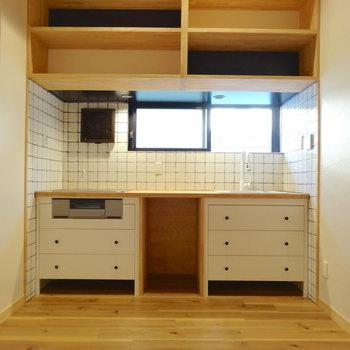 造作のキッチンが素敵すぎて※写真は前回掲載時のものです。