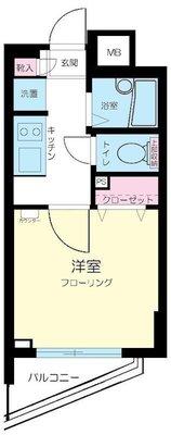 プレール・ドゥーク新高円寺 の間取り
