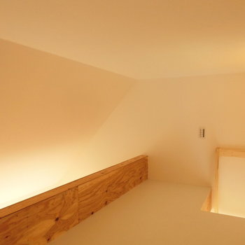 ロフトに上がってみた ※写真は同間取りの 01号室です。
