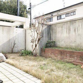 お庭も広い