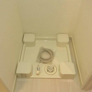 洗濯機置場※前回募集時の写真です