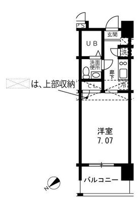 マークスプリングスタワー東京 の間取り