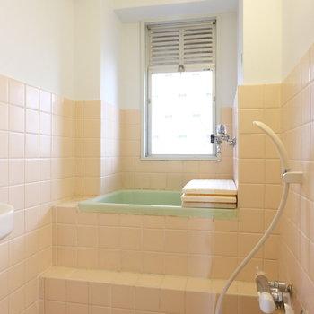 お風呂はこちら、扉はありません※写真は前回募集時のものです
