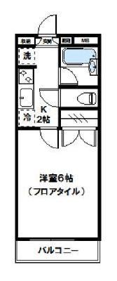 M-MIKAWAYA の間取り