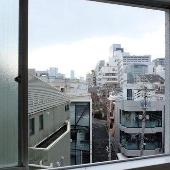 寝室からの眺めがいい雰囲気