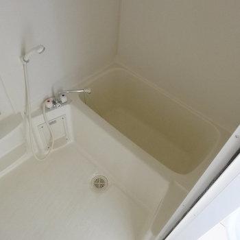 バスルームは清潔感あるホワイト※画像は13階