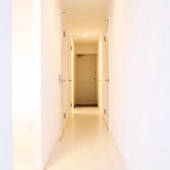 この廊下!ひろ〜〜〜〜い※写真は前回募集時のものです