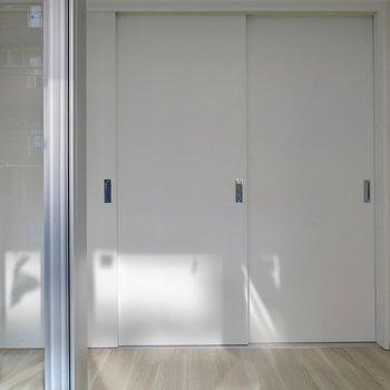戸を閉められます