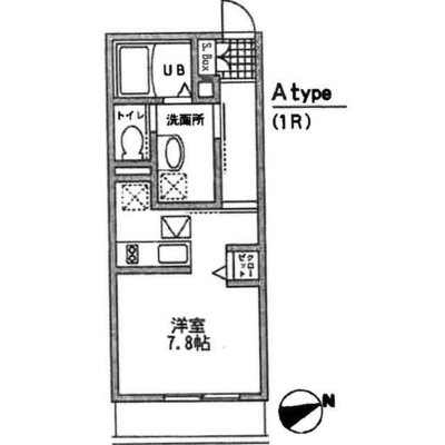 SHIMOKITA APARTMENTの間取り