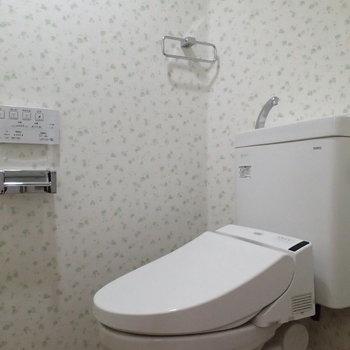 トイレはしっかり間取りで◎