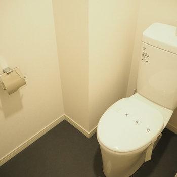 トイレもゆったり。※写真は前回募集時のもの