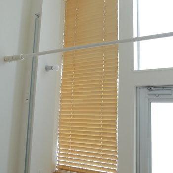 この窓は隠せるようになっているので目線は防げます。※ 写真は前回募集時のものです