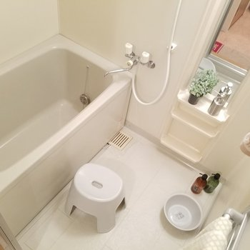 追い焚き付きのお風呂です!