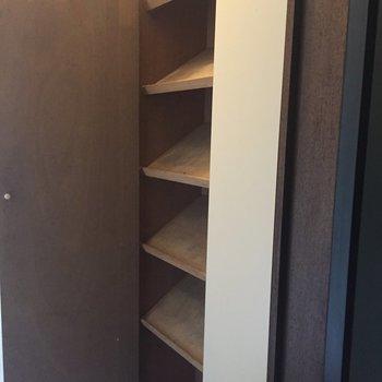 靴箱たっぷり!※写真は2階の反転間取り別部屋ものです