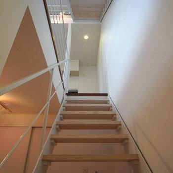 階段をのぼるって楽しい。※写真は前回募集時のものです