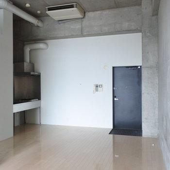 平米数以上の広さを感じる、圧巻の間取り。※写真は別室です。
