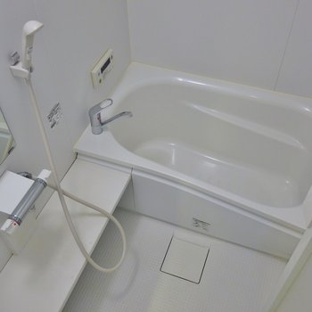 浴室乾燥機付き。※写真は、前回撮影時のもの