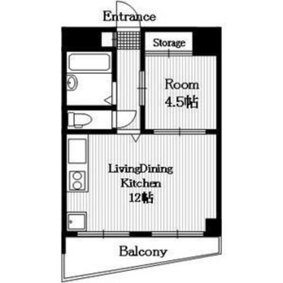 NKNマンションの間取り図