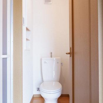 脱衣所権トイレです。※写真は前回募集時のものです