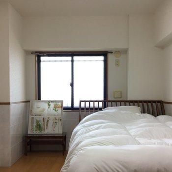 ここが寝室。窓もついてて目覚めもよさそう。