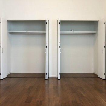 2階洋室、収納スペースが余りそうな予感