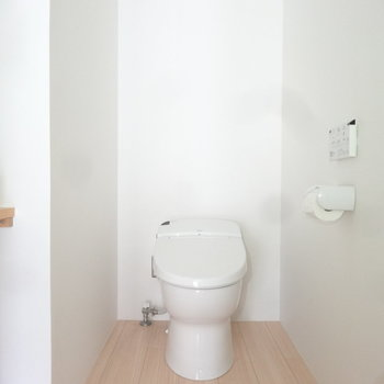 トイレもスタイリッシュです。