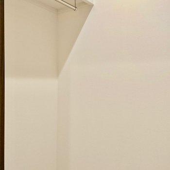 ウォークインです!※写真は4階の同間取り別部屋のものです。