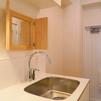 【afterイメージ】鏡もつけるので、洗面台はここで。