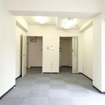 奥のお部屋、右奥には ※写真は前回募集時のものです