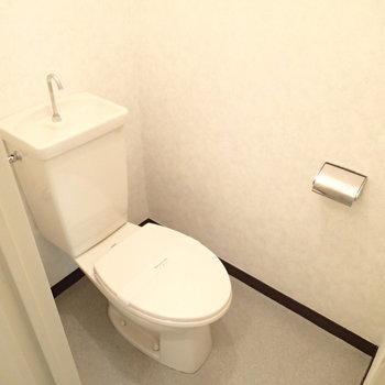 トイレはしっかり個室です。※写真は前回募集時のものです