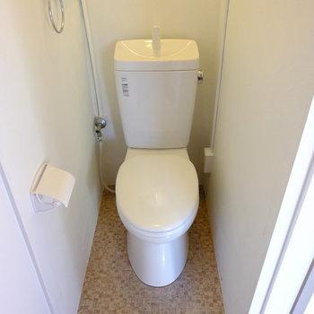 トイレはウォシュレット取付可能