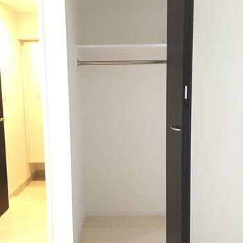 収納はここです!※写真は4階の同じ間取りの別部屋です。