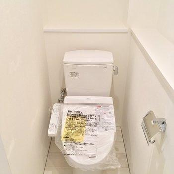 トイレは奥まった所に◎